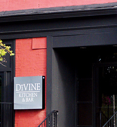 The DiVine Kitchen and Bar is located at the corner of Fall Street and State Street in Seneca Falls.
